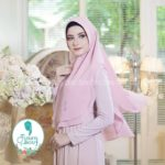 Khimar Sonkey by Fisura Kerudung Simple 2 Layer Bahan Ceruti Babydoll