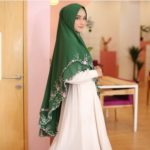 Khimar Binar by Fiori – Khimar Bordir Manual Ekslusive