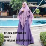 Adeva Set Syari Vol 4 Original Gallery Syarifah – Restock Very Best Seller Product 2019